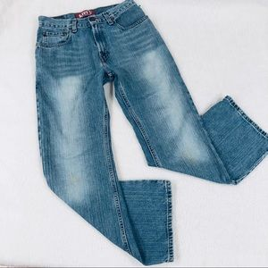 "LEVI""S High Rise Slim Fit Boot Cut 527 Jeans 29"